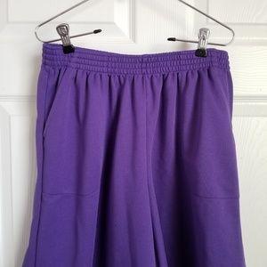 sara morgan Shorts - 😎Sara Morgan purple wide leg shorts - 14p